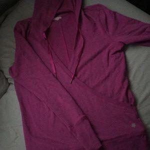 Lightweight hooded shirt